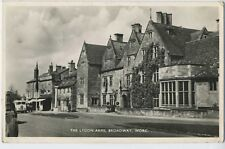 The Lygon Arms Broadway Worcester RP Postcard A15