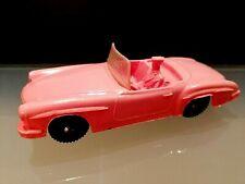 Vintage Mercedes Benz Tomte Laerdal Stavenger Norway Toy Car, Rubber, Rare!!!
