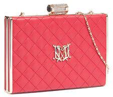 Moschino JC4219 0505 Red Box Clutch