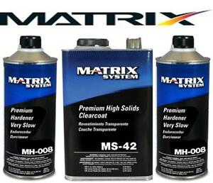MATRIX MS-42 HIGH SOLIDS URETHANE CLEARCOAT W/MH008 (SIMILAR DCU 2042)(MTXMS-42)