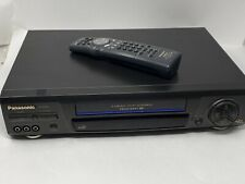 New ListingPanasonic Vhs Player Pv-8665S 4 Head / Hi Fi Stereo Omnivision Vcr W Remote