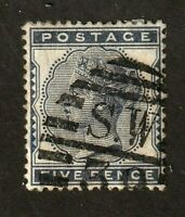 Great Britain stamp #85,used,  Queen Victoria, SCV $125