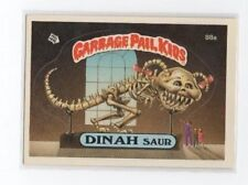 Dinah Saur Garbage Pail Kids Card # 88 A   NEXT DAY SHIP AFTER PAYMENT