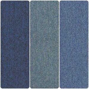Navy Sky Ocean Royal Blue Carpet Floor Tiles 20 Box 5m2 Loop Pile Home Office