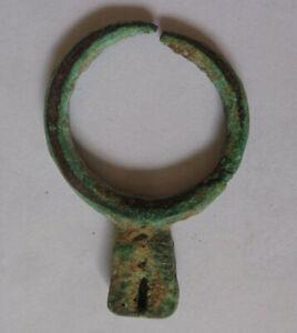 Bronzeanhänger, Ohrring, Djenné, Mali, Bronce Pendant Ear-Ring, Djenné, Mali