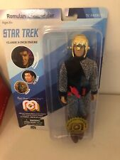 Mego Star Trek Romulan Commander Classic 8in Figure TV Favorites Gun Helmet New