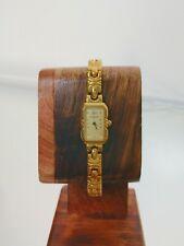 NEAR MINT! Ladies' Whittnauer SWISS Cocktail Watch Diamond Goldtone Vintage