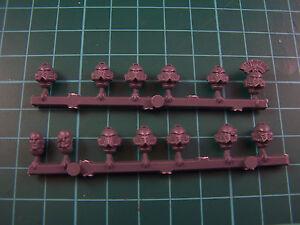 13 Space Marine Horus Heresy Tactical Legionary MK IV Heads (bits)