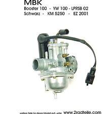 MBK Booster 100, YW 100,Vergaser, 17,5 mm incl Startautomatik