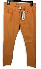 NWT Womens Element Denim Orange Size 26 Skinny Jeans