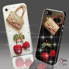NEW DIAMANTE HANDBAG DIAMOND MOBILE CASE COVER SAMSUNG iPHONE SONY HTC 4 5 S6 S5