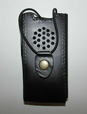 NEW Genuine Russian Police Radio Leather Holder Pouch Case Military Uniform Rare
