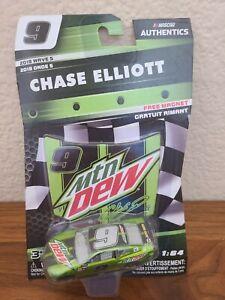 2018 Wave 5 Chase Elliott Mountain Dew 1/64 NASCAR Authentics Diecast MIP