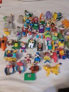 1990s McDonalds/ Burger King Kids Club Disney looney tunes Figures- Huge Lot