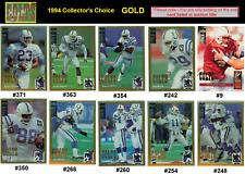 RARE-GOLD~ QUENTIN CORYATT [COLTS & TEXAS A&M] 1994 Collector's Choice free ship