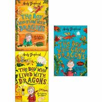 Boy Who Grew Dragons By Andy Shepherd 3 Books Collection Set Child Paperback NEW