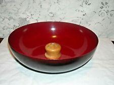 Vintage Enamel Nut Bowl by H.M Quackenbush