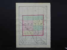 Michigan Map 1873, Double Sided, Counties of Ogemaw or Josco J19#85