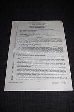ARTHUR KENNEDY (+ 1990) signed Autogramm auf Film VERTRAG 7 Seiten   SELTEN