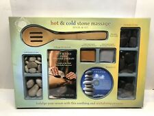 Hot & Cold Stone Massage Kit W/book And Cd