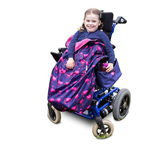 100% Waterproof Fleece-lined Wheelchair Cosy Wheelchair Cover | Universal fit |