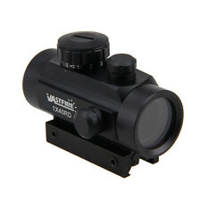 2x Tactical Holographic Red&Green Dot Sight Scope Illuminated Reflex 5 MOA Mount