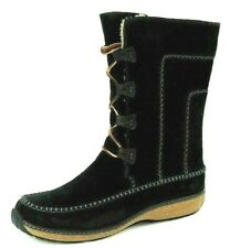 Timberland Fauna Lace BT Womens Boots Shoes Black 95390 Winter Suede Deadstock