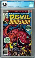 Devil Dinosaur #1 CGC 9.0 (Apr 1978, Marvel) Jack Kirby art, Moon-Boy, 1st Issue