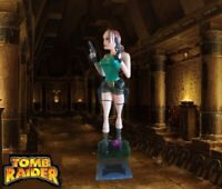 Tomb Raider Lara Croft Statue Bust Life size figure 1/2 angelina jolie legend