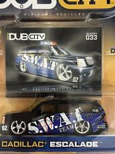 Jada Dub City S.W.A.T. Team Cadillac Escalade Police Vehicle Die Cast 1/64 Scale