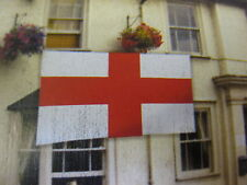 GIANT FLAG 9ft x 6ft ENGLAND ST GEORGE HIGH QUALITY OFFICIAL EURO FOOTBALL LARGE