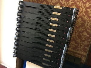 SuperMicro 1U Rackmount server chassis case CSE-512L-260B Black
