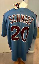 Philadelphia Phillies Schmidt Jersey Autographed