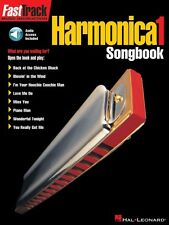 FastTrack Harmonica Songbook Level 1  Music Instruction Book and Audio 000695574
