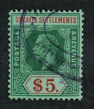 Ckstamps: Gb Straits Settle Stamps Collection Scott#167 Used