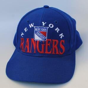 NEW YORK RANGERS NHL Baseball Cap Hat One Size Snapback Blue by The Game