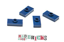 Job Lot Pack of 4 New Lego 3794 1x2 RARE COLOUR Plate With 1 Knob Stud 4186627