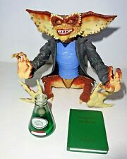 "Gremlins NECA  Reel Toys The Brain 7"" figure used Missing Spectacles"