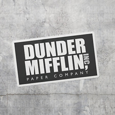 Dunder Mifflin The Office Vinyl Decal Sticker Laptop Car Luggage TV Show Paper