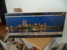VINTAGE New York Skyline Panorama Jigsaw Puzzle 750 Pieces Twin Towers SEALED