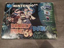 Nintendo 64 N64 Donkey Kong Console Pak Cib Complet Boxed PAL NUS-S-HEDO-EU6