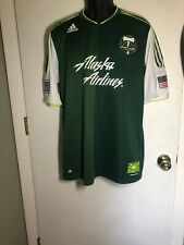 Authentic Competition Adidas Portland Timbers MLS Soccer Futbol Jersey Mens XL