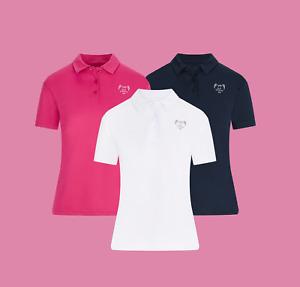 Golf Goddess Wings Ladies Golf Polo Shirt - Golf Top - Golf shirt - Cool Tech