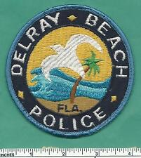 Delray Beach FL Florida State Fla Law Enf Police Patch - Palm Beach County - V1