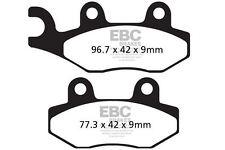 Fit Benelli Macis 150 10>15 Ebc Rear Organic Brake Pads