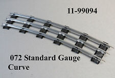 MTH LIONEL 072 CURVE STANDARD GAUGE TUBULAR TRACK SECTIONS 3 rail 11-99094 NEW