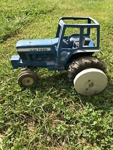 Ford TW 20 1980's Farm Toy Dual Back Wheels Tractor 1/12 Ertl Incomplete