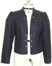 "HAMMERSCHMID WOOL Jacket DARK BLUE German Women Dirndl Short Coat B38"" 8 S"