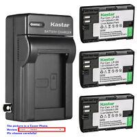 Kastar Battery AC Charger for Canon LP-E6 LP-E6N LC-E6 Canon EOS 60D Camera