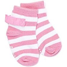 Stay-on-Baby-Socks-Pink-Stripe 0-3-Months